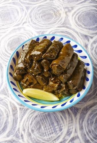 Stuffed Grape Leaves - Dolmadakia small(1)