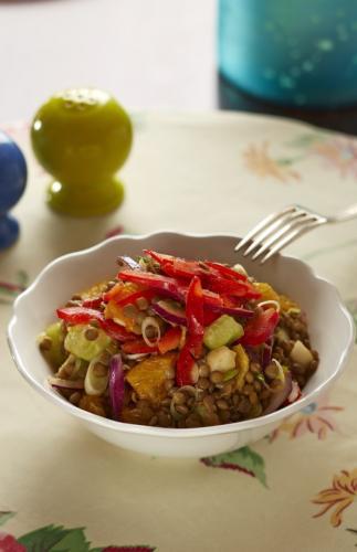 Lentil Salad with Oranges small(1)